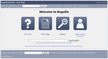 Bugzilla in action on bugzilla.mozilla.org