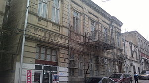 Asaf Zeynally - House in Baku, where Asaf Zeynally lived