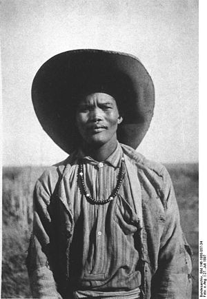 Bethanie, Namibia -  Young man from Bethanie (1897)