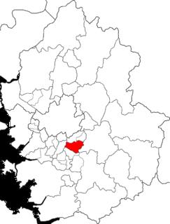 Bundang-gu Non-autonomous District in Sudogwon, South Korea