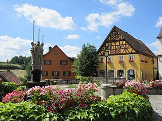 Burgwindheim Place in Bavaria, Germany