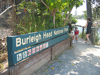 Burleigh Head National Park - Signage, 2006