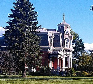 National Register of Historic Places listings in Tuscola County, Michigan - Image: Burtis Home 1890s