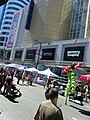 Buskers on stilts, Buskerfest, 2014 08 24 -i (15027041632).jpg