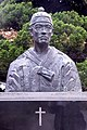 Bust of Andrew Kim Taegon outside Myeongdong Cathedral.jpg