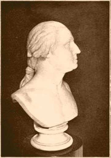 Bust of George Washington by Houdon