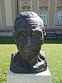 Bust of József Egry by Miklós Borsos (1983) in Keszthely, 2016 Hungary.jpg