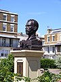 Bust of Vincent Van Gogh ramsgate, spencer square unveiling 1.jpg