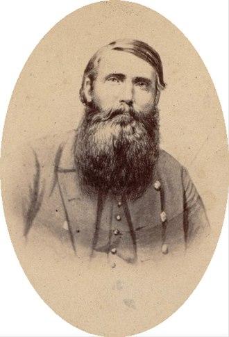 John Hanson McNeill - Bust portrait of John H. McNeill in uniform