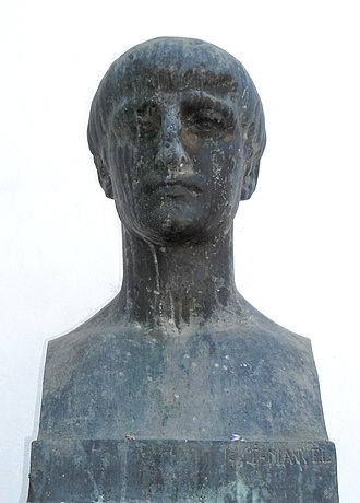 Lucan - Modern bust of Lucan in Córdoba. There are no ancient likenesses.