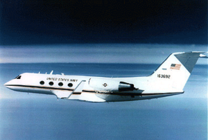 Gulfstream III - C-20 Gulfstream III operated by the United States Navy