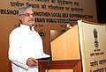 C.P. Joshi addressing at the Workshop on 'Accelerating Rural Development and Strengthening Local Self Governance', organized by the Ministry of Rural Development, in New Delhi on July 22, 2010.jpg