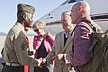 CMC honors 3rd MAW sergeant for coordinating first NCO-led morning colors ceremony 130301-M-YG675-006.jpg