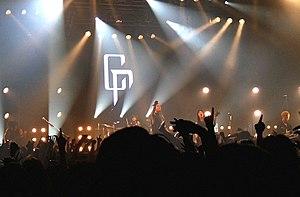 Coldrain - Coldrain performing in Tokyo in 2017.