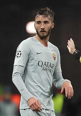 Cristante namens AS Roma in 2018.