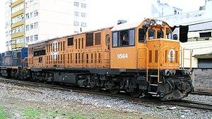 CSR Corporation Limited - CSR SDD8 FCA (Ferrovia Centro-Atlântica) nº9564. Brazil.