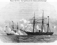 CSS Alabama battle with USS Kearsarge