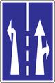 C 25 - Radenie jazdných pruhov pred križovatkou (vzor) 1.png