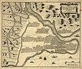 Ca 1711 map - Urbis Constantinopolitanae in XIV regiones divisae, qualis fuerit sub Honorio et Arcadio necnon ejusdem suburbiorum.jpg