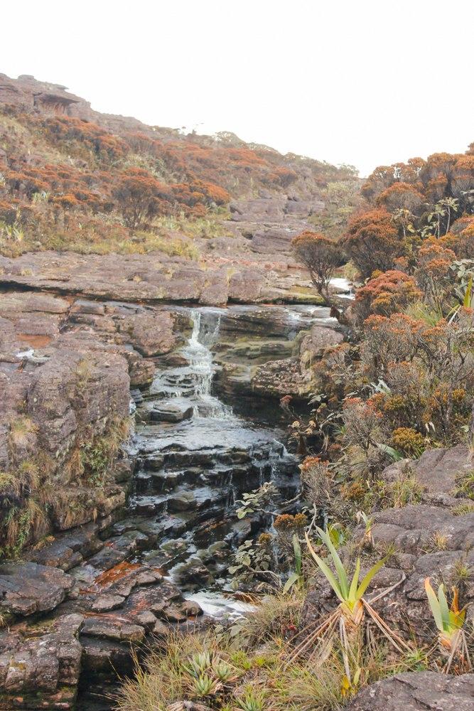 Cachoeira no Monte Roraima