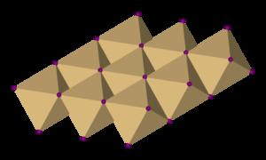 Titanium diselenide - Image: Cadmium iodide 3D octahedra