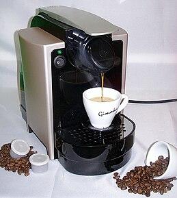 machine a capsule cafe