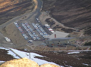 Cairn Gorm - Image: Cairngorm mountain ski resort base station