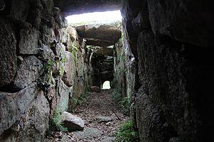 Giants' grave - Image: Calangianus Tomba dei giganti di Pascaredda (41)