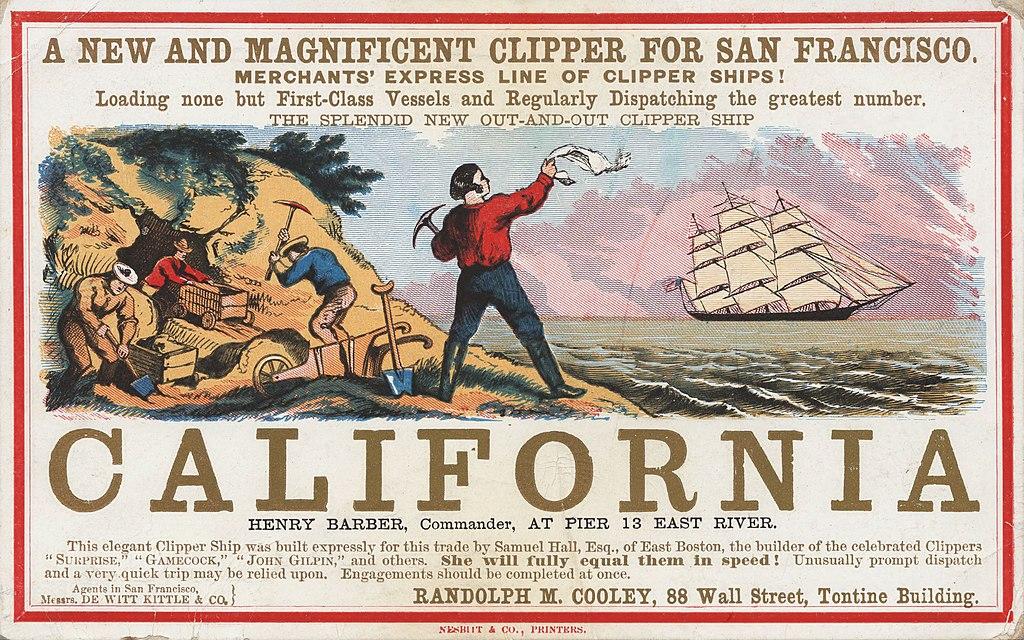 Séjour linguistique à San Francisco : La ruée vers l'or en Californie depuis 1849.