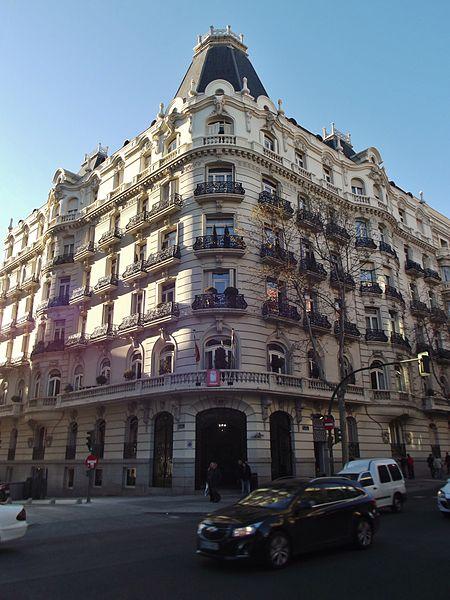 Archivo calle de serrano 25 madrid jpg wikipedia la - Calle serrano 55 madrid ...