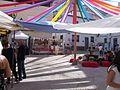 Calles decoradas en las fiestas de El Primer Corte de la Miel Ayora 2016 08.jpg