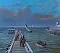 Camille De Bruyne. Havengeul van Oostende.JPG