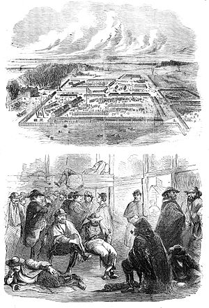 Camp Douglas (Chicago) - Union prisoner of war camp in Chicago during the American Civil War