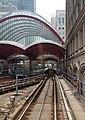 Canary Wharf DLR station, 3 April 2012.jpg