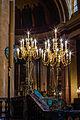 Candélabres de la cathédrale Saint-Pierre, Rennes, France.jpg