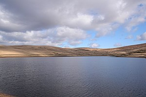 Worsthorne-with-Hurstwood - Image: Cant Clough reservoir geograph.org.uk 118934