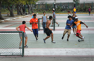Street football - Street football in Venezuela