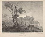 Carew Castle, Pembrokeshire - sunset- 1832.jpeg