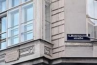 Carl Ritter von Ghega, GT, Wien 1., Rotenturmstraße 6 - Lugeck 7.jpg