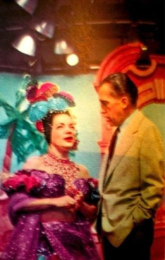 The Ed Sullivan Show - Carmen Miranda and Ed Sullivan on Toast of the Town, 1953.