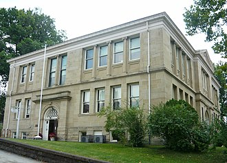 Connellsville, Pennsylvania - Carnegie Free Library (1903) National Register of Historic Places