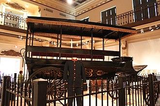 Missouri History Museum - Carriage on exhibit.