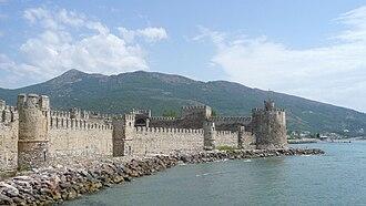 Mamure Castle - Image: Castle in Mamure, Anamur, Turkey from the Sea