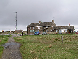 Cat and Fiddle Inn - Viewed from the south