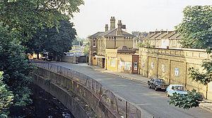 Catford Bridge railway station - Station approach (1983)