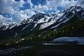 Caucasus Mountains near Rosa Khutor Alpine Resort.jpg