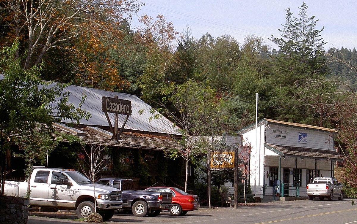 Cazadero, California - Wikipedia