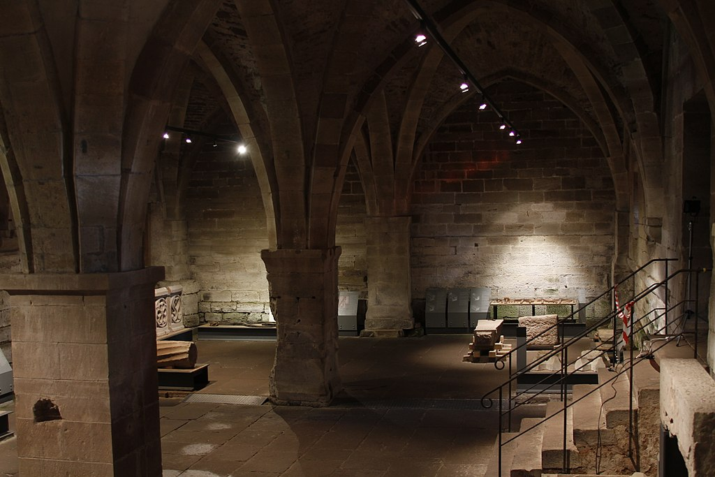 Cellarium interior - Maulbronn Monastery - Maulbronn - Germany 2017
