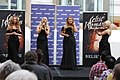 Celtic Woman performs at Macquarie Shopping Centre, Sydney.jpg