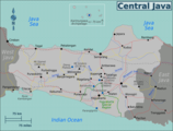 Central Java Region map.png